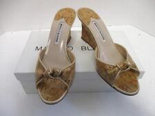 b94023c7ca40c Manolo Blahnik Wedge Sandals & Flip Flops for Women for sale | eBay