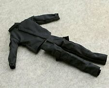"""1:6 US Black SWAT Battledress Uniform Jacket Coat Pants Trousers For 12"""" Figure"""