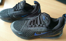Air Max-270 Black Blue Running Shoes Sports Trainers Sneakers Shoes Size UK 5