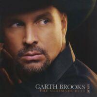 *Damaged* Garth Brooks The Ultimate Hits Brand New 2 CD Set -damaged case- E12F