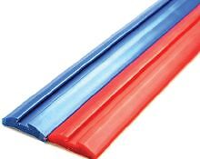 Boat Trailer Skid Block BLUE 1.5 meter long x 50mm wide x14mm High Grooved Centr