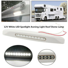 Car RV Ship Roof Dome Lamp Ceiling Lighting 12V LED Spotlight Awning Light Well