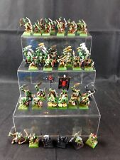 Warhammer Orc Army Games Workshop 1991 GW - 45 Pieces Painted