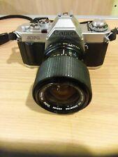 Canon AV-1 35mm Camera Vivitar 35-70mm Lens Strap