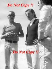 Graham Hill & Paul NEWMAN Portrait 1974 Rolex Daytona Photo 1