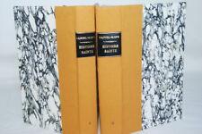 HISTOIRE SAINTE LE PEUPLE DE LA BIBLE ROPS LEBEDEFF 2/2 RELIURE VELIN 1946