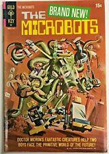 MICROBOTS#1 FN/VF 1971 GOLD KEY BRONZE AGE COMICS