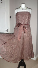 Lovely Principles Strapless Lined Dress Party Prom Cruise Evening Sz UK 12 EU 40