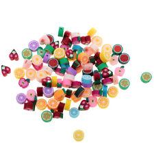 100pcs fruits en argile polymère perles Bracelet accessoire résultats de