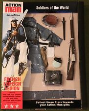 vintage action man 40th anniversary french foreign legion card boxed