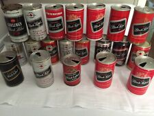Carling Black Label Beer lot of 20 collectible cans.