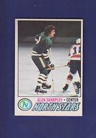 Glen Sharpley RC 1977-78 O-PEE-CHEE OPC Hockey #158 (EXMT) Minnesota North Stars