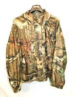 Herter's 2X Break Up Infinity Camo Jacket Quiet Fleece Full Zip Hood Coat Hunt
