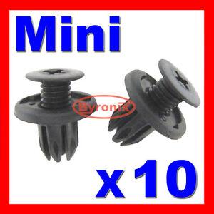 MINI INNER WHEEL ARCH LINER SPLASHGUARD CLIPS Convertible Countryman R59 R60 X10