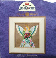 Mill Hill Cross Stitch Bead Kit 'Spring Angel' by Jim Shore 30-0101