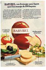 PUBLICITE ADVERSTISING  1968   BABYBEL  fromage