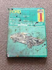 Ford Capri MK1 Haynes Workshop Manual