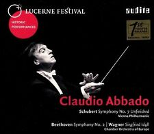 Abbado conducts Schubert, Beethoven & Wagner, New Music