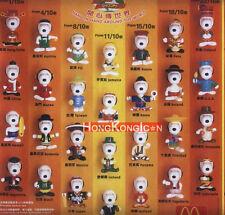 Peanuts Snoopy McDonald's 1999 Figures Figurines World Tour Part 2 Set of 28