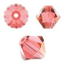 Swarovski Crystal Bicone. Padparadscha Color. 4mm. Approx. 144 PCS. 5328