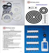 1977 Zaccaria Aerobatics Pinball Machine Tune-up Kit - Includes Rubber Rings!
