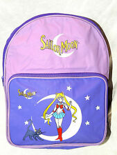 """NEW WITH TAGS PURPLE SAILOR MOON  BAG STARS BACKPACK  14"""" X 10"""" X 4 1/2"""""""