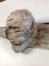 "Super Rare Natural Form Wood /Titled ""The Gas Face""-Supernatural character wood!"
