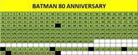 EVADO MANCOLISTA FIGURINE BATMAN 80 ANNIVERSARY 2019 A 0.25€ CAD