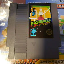 Baseball Nes (Nintendo) Game.