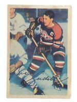 1954-55 Bill Gadsby #76 Chicago Black Hawks Defense Parkhurst Hockey Card H403