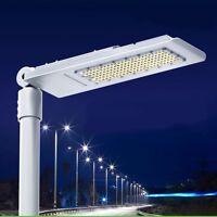 120W US Ship White LED Street Road Light Outdoor Yard Industrial Garden Lamp