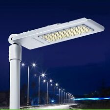 120W US Ship White LED Street Road Light Outdoor Yard Industrial Garden Lamp