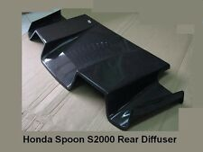 Fiberglass Spoiler Rear Diffuser for Spoon S2000 JDM Civic EK9 Integra DC2