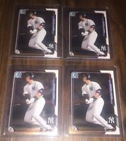Lot Of 25 New York Yankees Baseball Cards + (1) Aaron Judge  Chrome Rookie Card