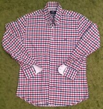 Hawes & Curtis ' Weekend Collection' Checked Shirt  - Medium Slim Fit