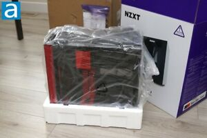 NZXT - H210i Mini ITX Tower  Gaming Case -red -black A
