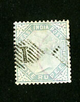 India Stamps # 35 F-VF Used Scott Value $30.00