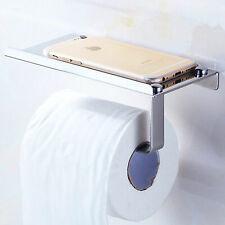 Qualité Argent Mural Chrome Toilette Loo Porte-rouleau de salle de bains Prix Spécial