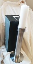"""New listing Blomus Candle Holder Large 12"""" 1 Foot tall + 6"""" Candle - $60 Retail"""