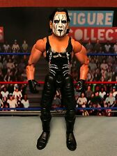 TNA Wrestling Toybiz Impact Series Sting Figure WWE Marvel Head Switch