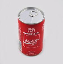 Coca Cola Dose Davis Cup mit Inhalt, voll, ungeöffnet, unopend can, Germany 1990