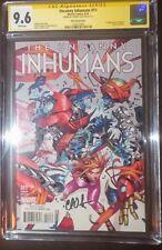 Uncanny Inhumans #11 Putri Variant SS CGC 9.6 1st Appearance Mosaic Signed Soule