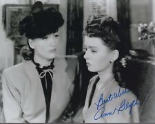 ANN BLYTH HAND SIGNED 8x10 PHOTO+COA       BEAUTIFUL ACTRESS FROM THE 1950's