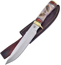 Coltello Frost Cutlery Red Plains Chief Bowie Caccia