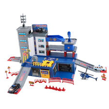 Parking Lot Car Garage Playset Vehicle Toy Play Construction Educational Toys