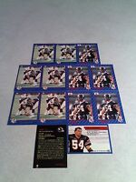 *****Irv Daymond*****  Lot of 21 cards.....3 DIFFERENT / Football / CFL