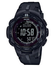Casio Men PRO-TREK TRIPLE SENSOR SOLAR BLACK PRW3100Y-1B