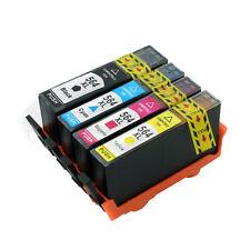 4pk Compatible Ink Set For HP 564XL Deskjet 3070a 3520 3521 3522 3526 INK LEVEL