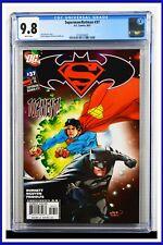 Superman Batman #37 CGC Graded 9.8 DC August 2007 White Pages Comic Book