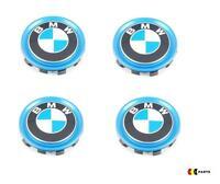 BMW NEW GENUINE i3 i8 i01 i12 SERIES WHEEL CENTER CAP HUB COVER SET OF FOUR